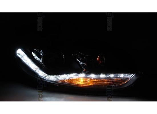 Фары для Ford Focus 3 2011-15 дорестайлинг. Вариант 2 (фото)