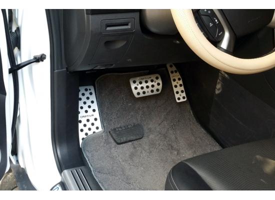 Накладки на педали для Chevrolet Captiva 2011-2016 (фото)
