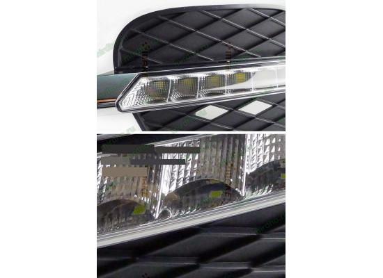 ДХО для BMW X5 E70 Рестайлинг 2011-13