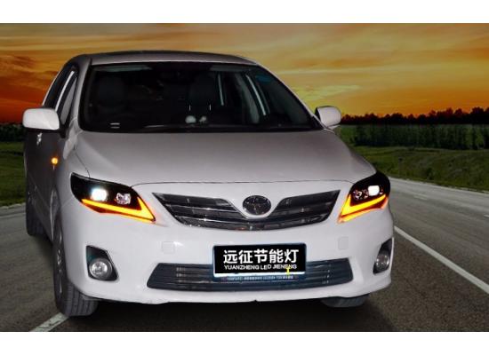 Фары для Toyota Corolla X 2010-13. Вариант 2