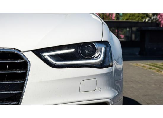 Фары на Audi A4 IV (B8) Рестайлинг 2011-15 (фото)