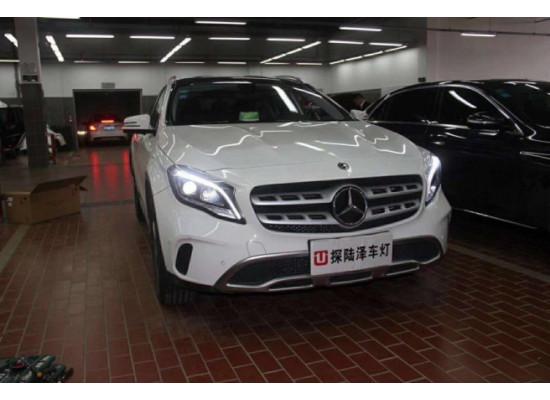 Фары для Mercedes GLA X156 2014-17 И рестайлинг 2017+ (фото)
