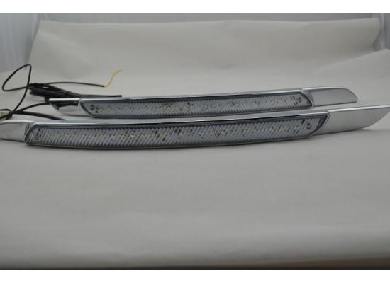 ДХО для Nissan Teana 2 с поворотниками 2008-14 (фото)