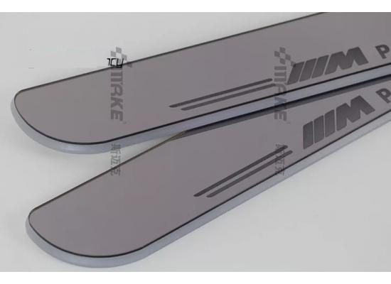 Накладки на пороги LED для BMW М 3 series F30 (фото)