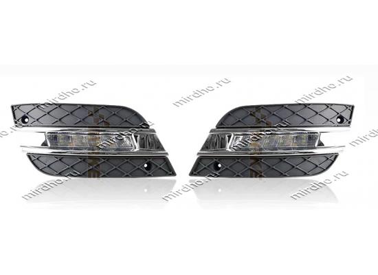 ДХО для Mercedes-Benz ML W164 2008-11г Рестайлинг (фото)