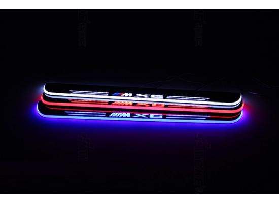 Накладки на пороги LED для BMW  Х6 М (фото)