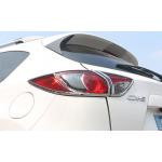 Хромированные накладки на задние фонари для Mazda CX 5 2015-2017