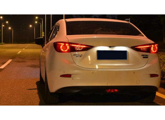 Задняя оптика для Mazda 3 2013-2016 копия оригинала (фото)