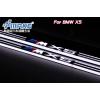 Накладки на пороги LED для BMW  Х5 E70 07-13