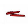 Задние габариты (ДХО) + доп. стоп сигналы Toyota Camry V50 2012-2014 Вариант 1 (фото)