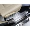 Накладки на пороги для Toyota Highlander 3 2013-16 (фото)