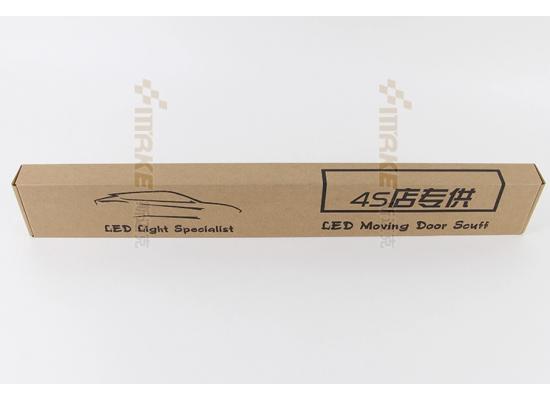 Накладки на пороги LED для Porsche Cayenne S (фото)
