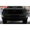ДХО для Toyota Prado 150 Рестаилинг 1 2013-2017. Вариант 2 (фото)