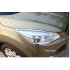 Хромированные накладки на фары и задние фонари для Ford Kuga 2 2012+