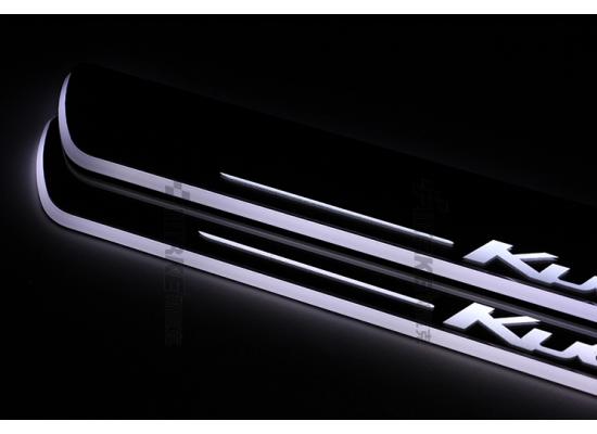 Накладки на пороги LED для Ford Kuga 2 (фото)