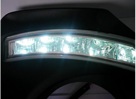ДХО для Toyota Corolla X рестаилинг 2010-13 (фото)