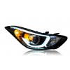 Фары для Hyundai Elantra 5 MD 2011-14 и Рестаилинг 2014-16. Вариант 3 (фото)