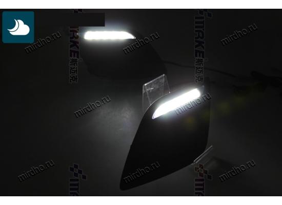 ДХО для VOLVO XC60 2008-13 Вариант 1 (фото)