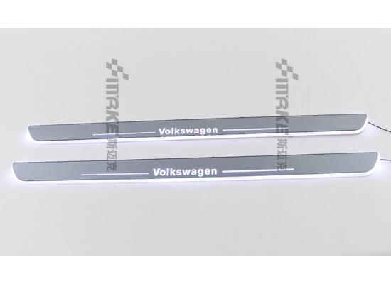 Накладки на пороги LED для Volkswagen (фото)