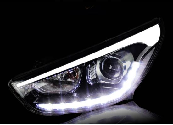 Фары на Hyundai ix35 Вариант 7 (фото)
