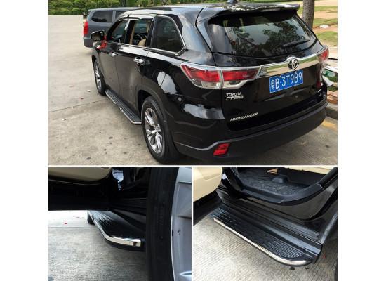 Пороги для Toyota Highlander 3 2013-по н.в.