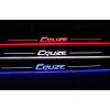 Накладки на пороги LED для Chevrolet Cruze Вариант 2