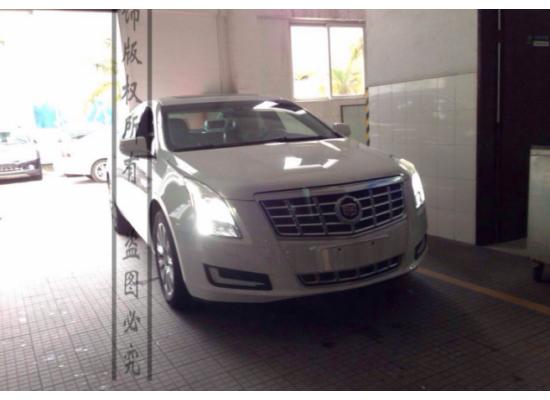 ДХО для Cadillac XTS 2013 г (фото)