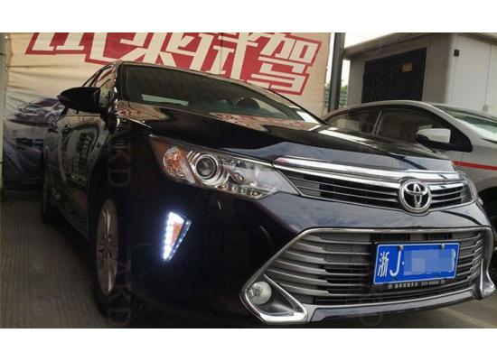 ДХО для Toyota Camry 7 Рестаилинг 2014-2017. Вариант 4 (фото)