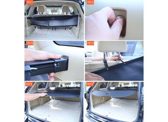 Шторка для багажника для Toyota Highlander 3 2013-по н.в. (фото)