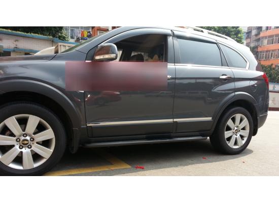 Хромированные накладки на двери для Chevrolet Captiva 2011-по н.в. (фото)