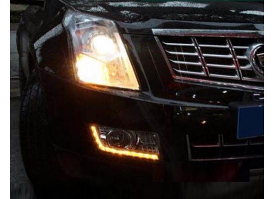 ДХО для Cadillac SRX 2013-2014 г.в. (фото)