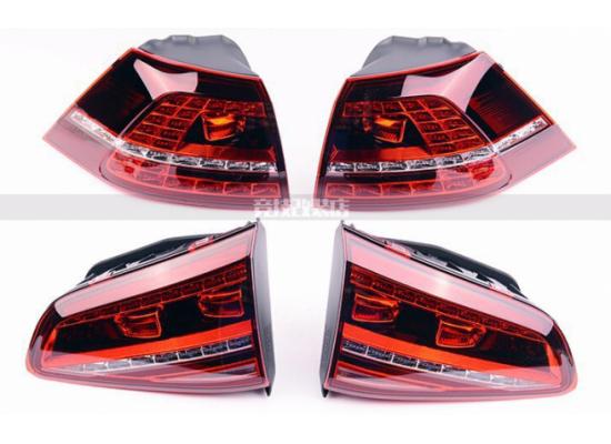 Задние фонари для Volkswagen Golf 7 (фото)