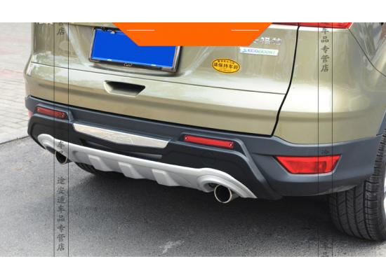 Защитные накладки на бампера для Ford Kuga 2 2012-16