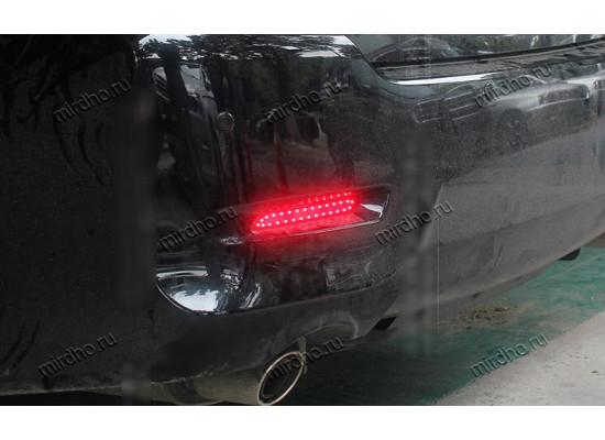 Задние габариты (ДХО) + доп. стоп сигналы + доп. поворотники для Toyota Camry V50 2012-14