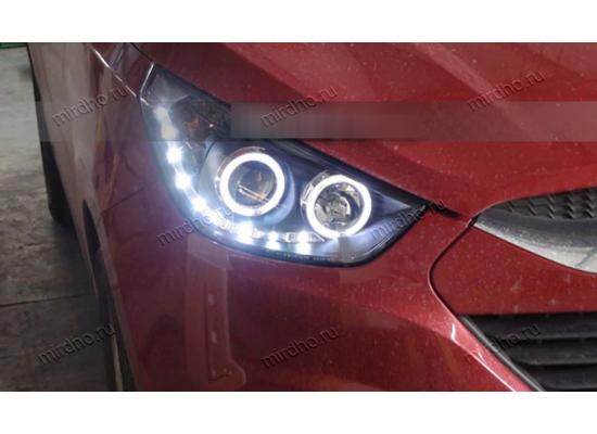 Фары для Hyundai IX35 вариант 3 (фото)