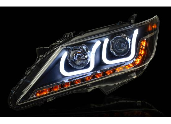 Фары для Toyota Camry 7 2011-14. Вариант 2 (фото)