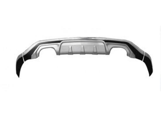 Накладка на задний бампер для Chevrolet Captiva I Рестайлинг 2011- по н.в.