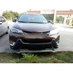 ДХО для Toyota RAV4 накладки на противотуманки
