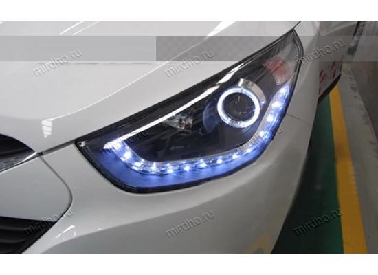Фары для Hyundai IX35 вариант 4 (фото)