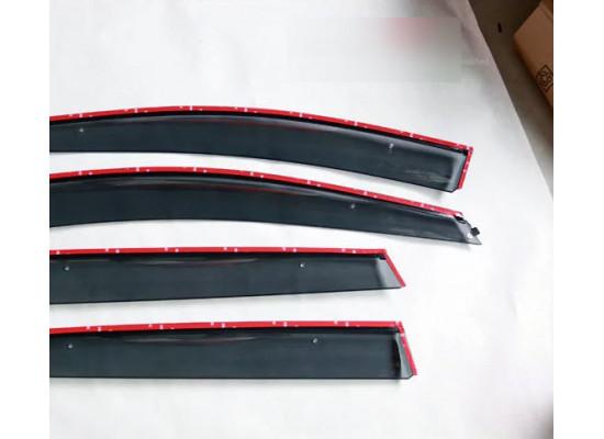 Ветровики для Ford Kuga 2 Вариант 1 (фото)