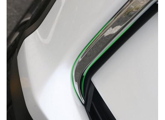 Хромированная накладка на ПТФ для Lexus RX 2015-по н.в. (фото)
