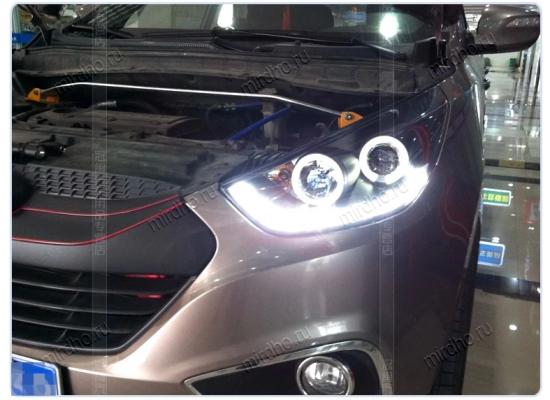 Фары для Hyundai IX35 вариант 6