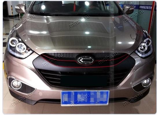 Фары для Hyundai IX35 вариант 6 (фото)