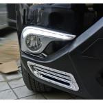 ДХО для Toyota Highlander 2 Рестаилинг 2010-13 с поворотниками и без