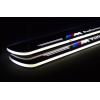 Накладки на пороги LED для BMW Х3 11-14