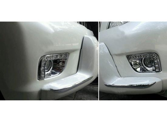 ДХО для Toyota Land Cruiser Prado 150 2009-13 Хром (фото)