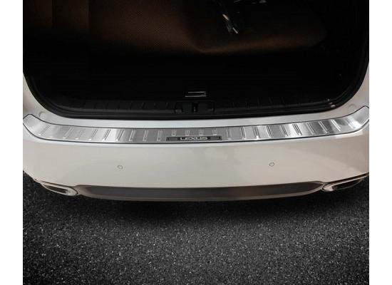 Накладка на бампер с надписью для Lexus RX 2015-по н.в. (фото)