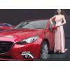 ДХО для Mazda 3 III 2013 - 2016. Вариант 2 Полоса COB (фото)