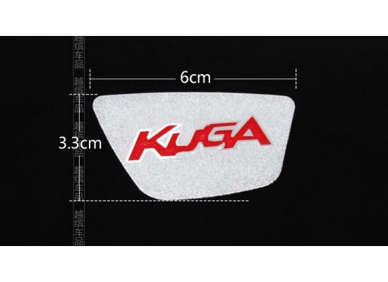Вставки с лого в ручки в салоне для Ford Kuga (фото)