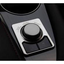 Хромированная накладка на ручку режима для Lexus RX 2015-по н.в. (фото)